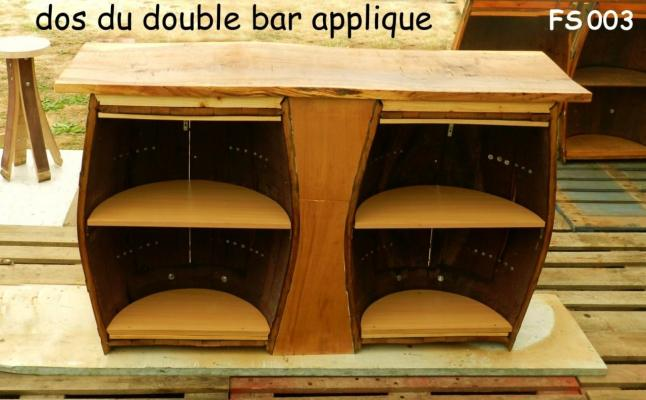 003 dos du double bar applique. Black Bedroom Furniture Sets. Home Design Ideas