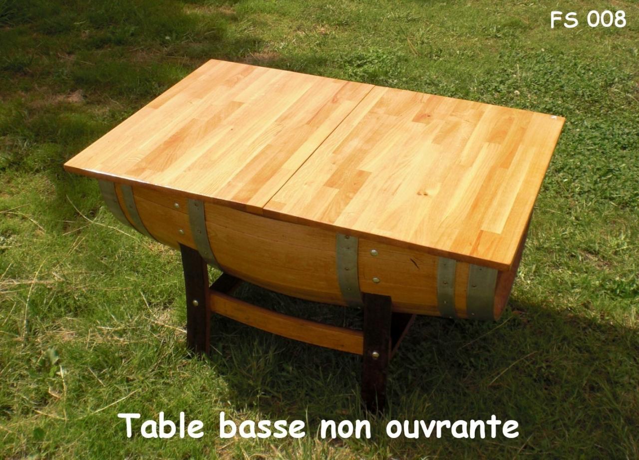 008 table basse non ouvrante. Black Bedroom Furniture Sets. Home Design Ideas